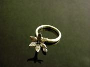 誕生花11月ブルバディア指輪