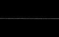 K10ホワイトゴールド カットボールチェーン 線径1.2φ 50cm