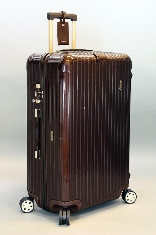 ☆2010年モデル☆最新型 RIMOWA リモワ SALSADELUXE サルサデラックス 872.70 ブラウン 4輪 TSA