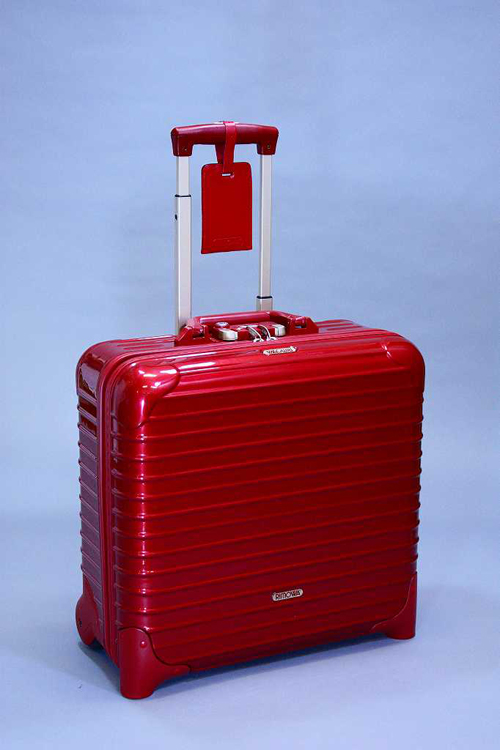 RIMOWA リモワ SALSADELUXE サルサデラックス 853.40 Business Trolley レッド