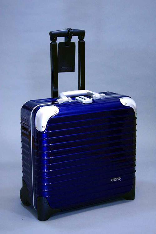 RIMOWA リモワ LIMBO リンボ 881.40 ブルー Business Trolley 2輪