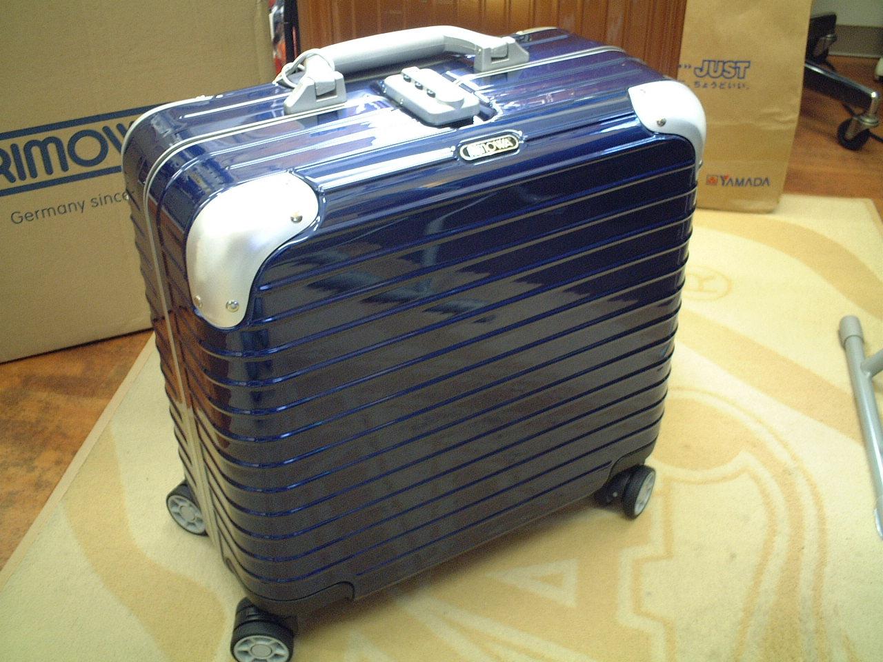 超特価ラスト1個★2012製★ RIMOWA リモワ LIMBO リンボ 891.40 ブルー 4輪トロリー
