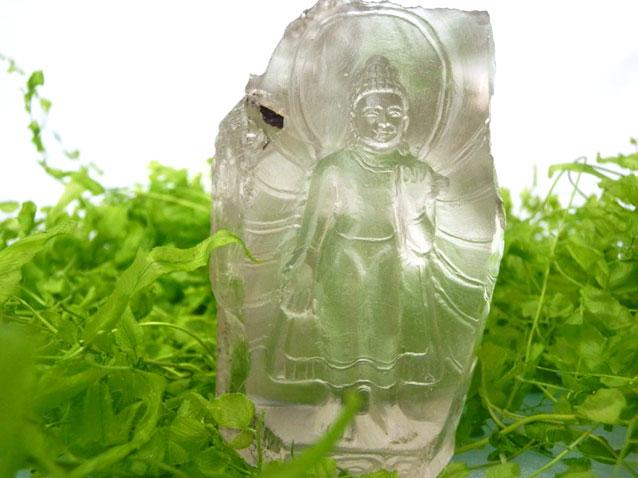 ガネーシュヒマール水晶仏像