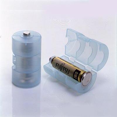 単3電池が単1電池になる電池アダプター