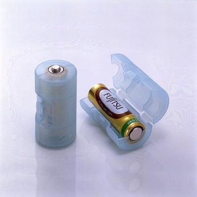 単3電池が単2電池になる電池アダプター