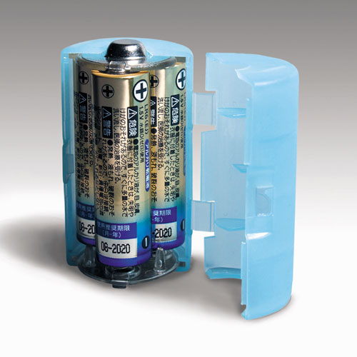 単3が単1になる電池アダプター大容量