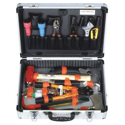 救助用工具格納箱レスキュー工具セット(アルミトランク式)