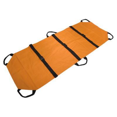 災害時にも介護にも使用できる万能担架です。万能ソフト担架