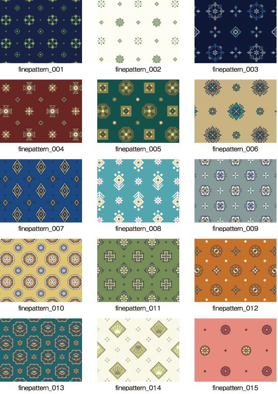 パターンコレクション_小紋