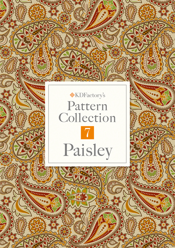 【Pattern Collection】パターンコレクション【Paisley】ペイズリー