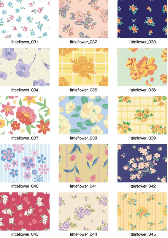 パターンコレクション_小花