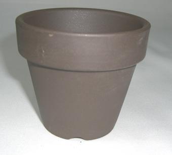 黒鉢 硬質素焼き鉢 仕立鉢 2.5号 10枚セット 水草 ジュエルオーキッドなどに
