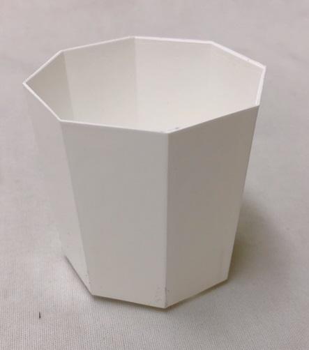 プラ鉢 2Y 白 300個セット 八角形 多肉 サボテン 山野草