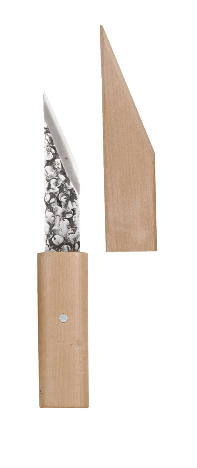 八木光 木鞘付接木ナイフ 接木切出 接ぎ木ナイフ 木さや付き  N-2 /ネコポス便可