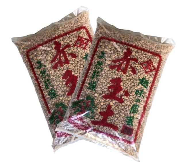 【送料無料】 赤玉土 18L 2袋(36L) 中粒 プロも使う型崩れしにくい赤玉土です。