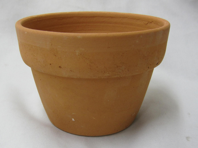 素焼き鉢 3.5号 α型 アルファ 中深 10枚セット 洋蘭 カトレア 原種