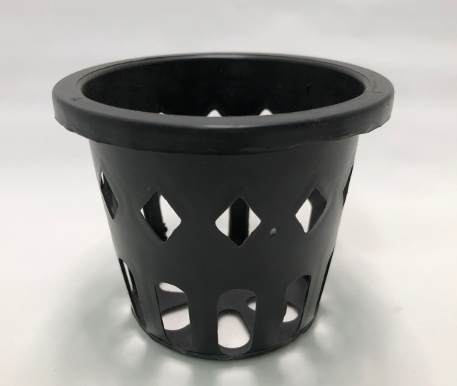 穴鉢 9cm 黒 10個 富貴蘭 多肉植物 サボテン 洋蘭 原種