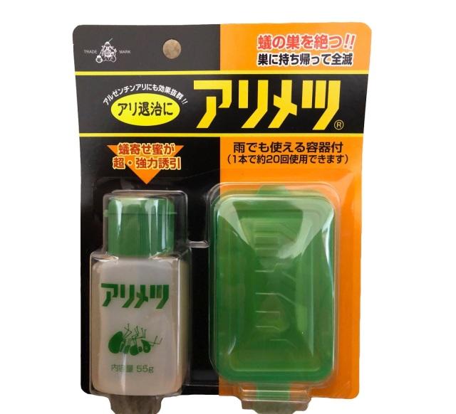 アリメツ 雨で使える専用容器付き 殺虫剤 55g 殺蟻剤 アリの駆除/ネコポス便