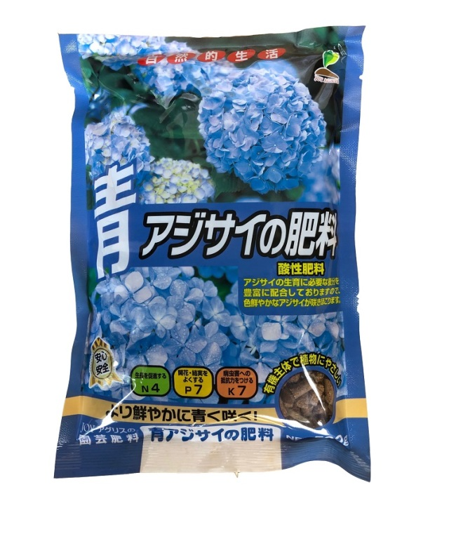 JOYアグリス 青アジサイの肥料 500g 4-7-7/2袋までネコポス便可