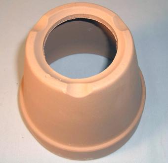 素焼き鉢4.5号 大穴 6枚