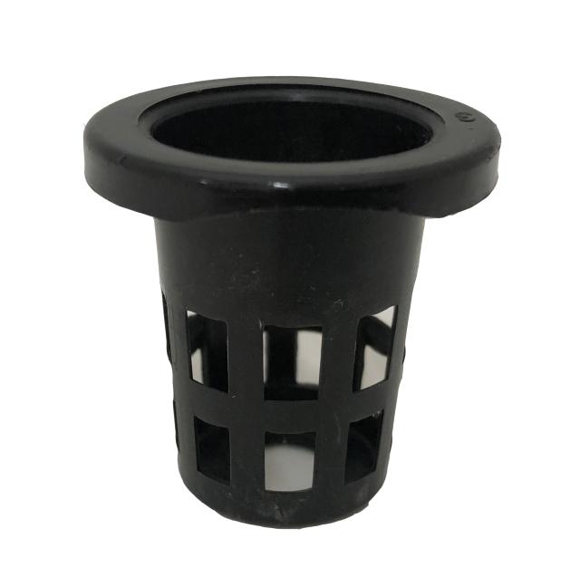 縁あり穴鉢 3.4cm 黒 50個 硬質ポリポット CP-34