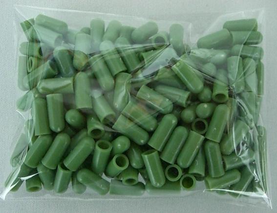 支柱キャップ 4.0mm用 200個 洋蘭 支柱 /ネコポス便可