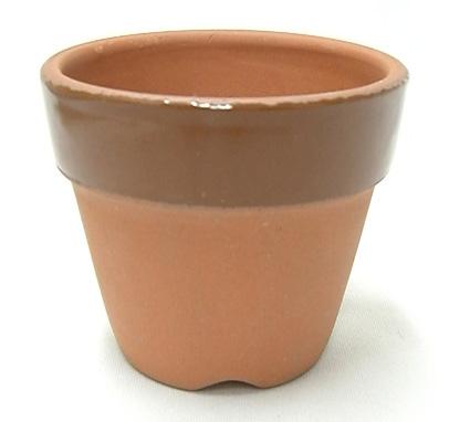 常滑焼 駄温鉢 深 2.5号 仕立鉢 10枚 園芸鉢 深