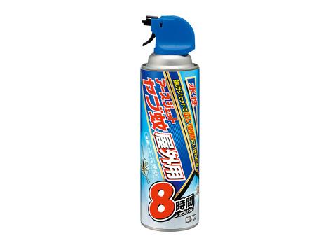 アース 水性 ヤブ蚊ジェット 屋外用 450ml 庭仕事前に最適