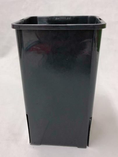 EGスリット鉢 EG-ROSE  12cm  4号  黒 ロングタイプ 210個セット