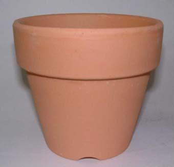 洋蘭 素焼き鉢 3.5号 10枚