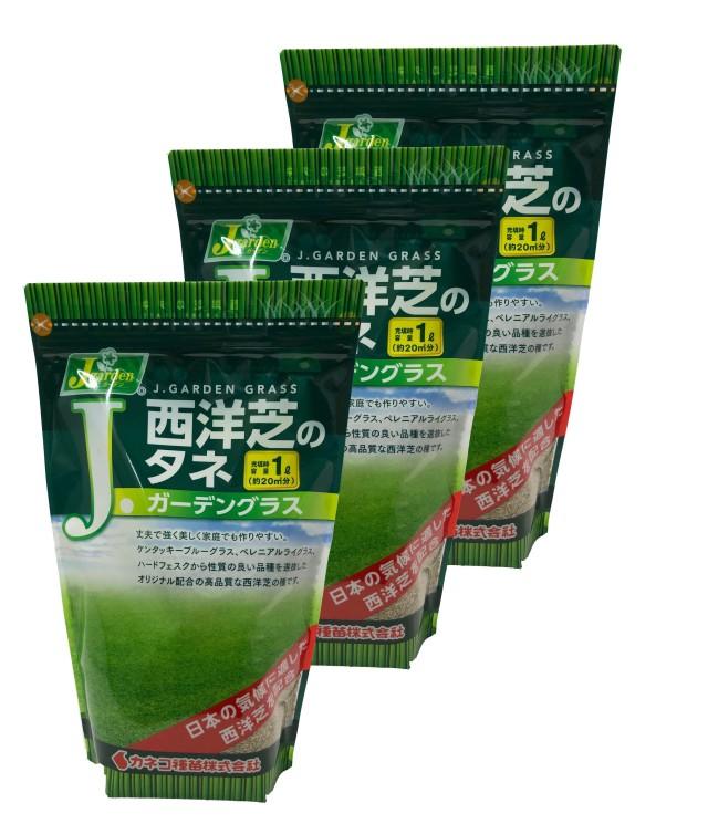 西洋芝の種 3L(約18坪分) ガーデングラス 芝生のタネ