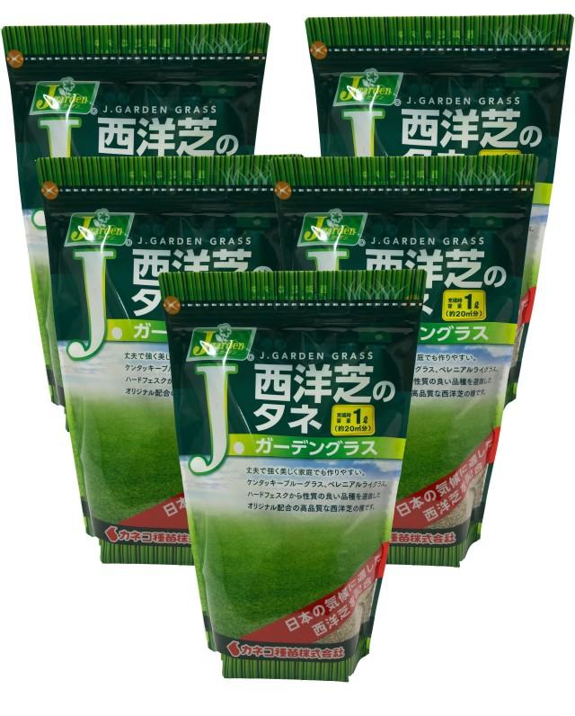 西洋芝の種 5L(約18坪分) ガーデングラス 芝生のタネ 送料無料