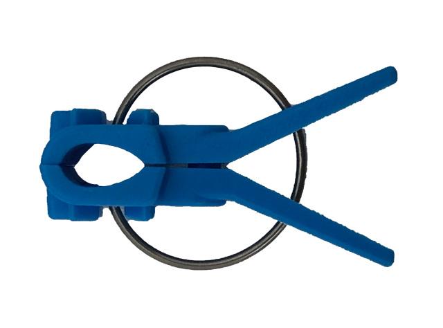 接木フレンド ナス科用 青 ブルー 接ぎ木クリップ 200個入り /ネコポス便可