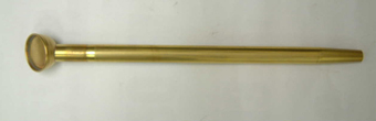 真鍮製ノズル 水が横に広がないノズル 35cm S目