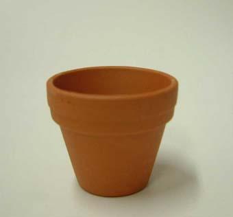 小品盆栽 仕立鉢 ドイツ製 3cm 100枚 1号 硬質素焼き鉢