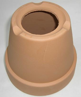 素焼き鉢5.0号 大穴 6枚
