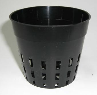 穴鉢 7.5cm 黒 50個 硬質ポリポット