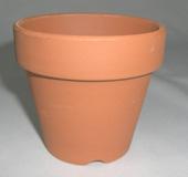 小品盆栽 仕立鉢 シオン鉢 2.5号 深 8cm 10枚セット 硬質素焼き鉢
