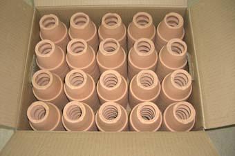 素焼き鉢3.0号 大穴 120枚 【送料無料】