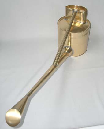 真鍮製の如雨露(ジョウロ) 英国式 6号