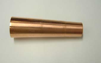 銅製の如雨露のアジャスター