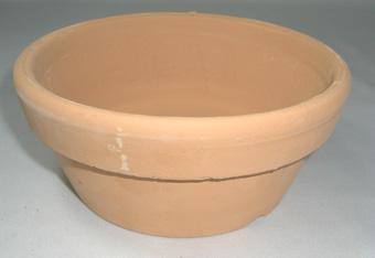 素焼き鉢 皿鉢 5号
