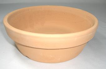 素焼き鉢 皿鉢 6号
