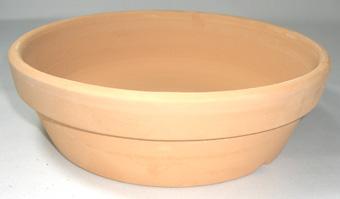 素焼き鉢 皿鉢 7号