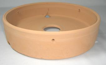 素焼き鉢 皿鉢 9号