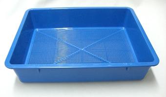 育苗箱 C型 ブルー 34cm 種まき さし木 さし芽 トレー