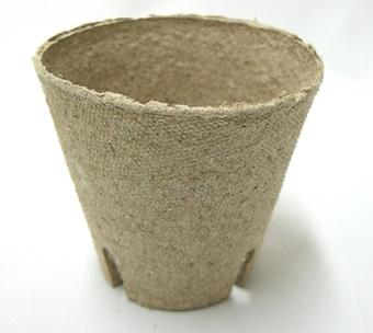 ジフィーポット 8cm 1400個セット 穴あり 種まき 挿し芽 Jiffy