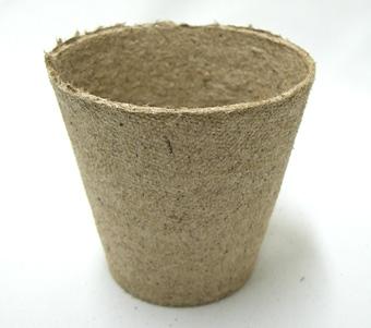 ジフィーポット 8cm 1400個セット 穴なし 種まき 挿し芽 Jiffy