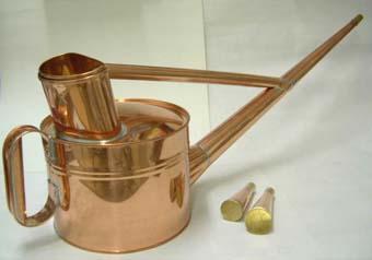 銅製の如雨露(ジョウロ) 英国式 4号