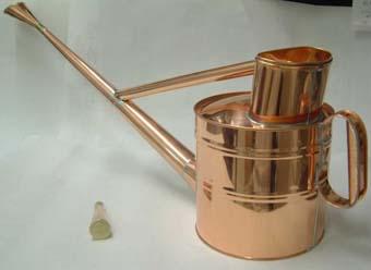 銅製の如雨露(ジョウロ) 英国式 6号
